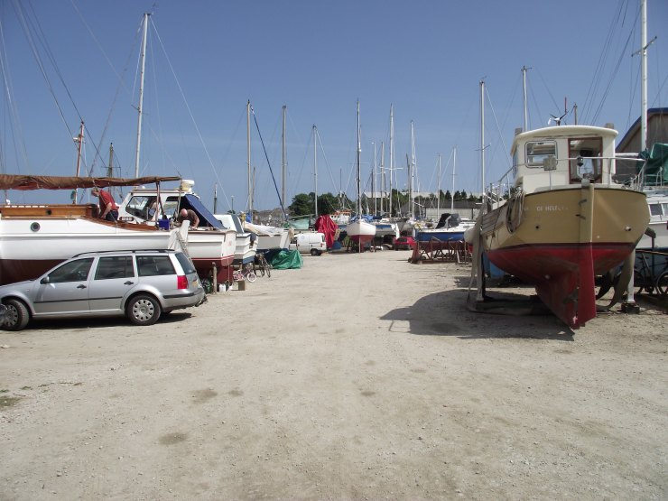 Ponsarden Boat Yard Boats